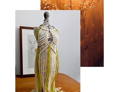 Entangled Fiber Art