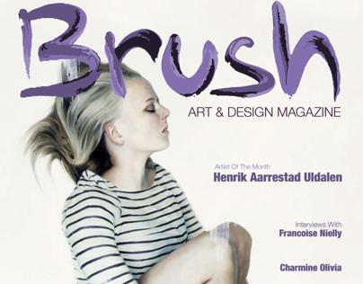 Brush, Magazine Design