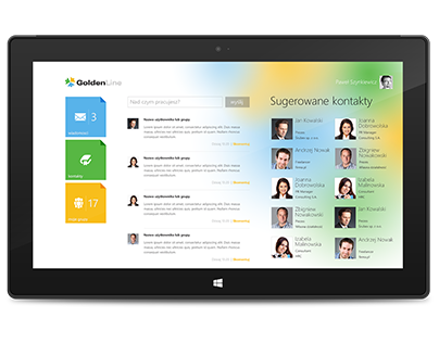 GoldenLine Windows 8 App
