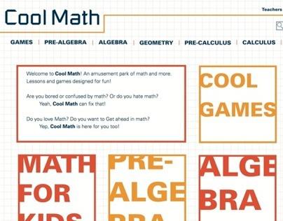 Cool Math Re-Design