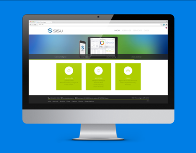 SISU Technologies website