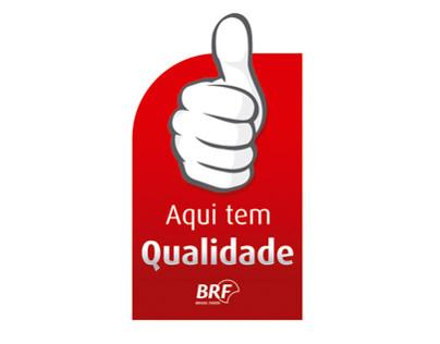 Selo e Cartaz de Qualidade - BRF Joaçaba.