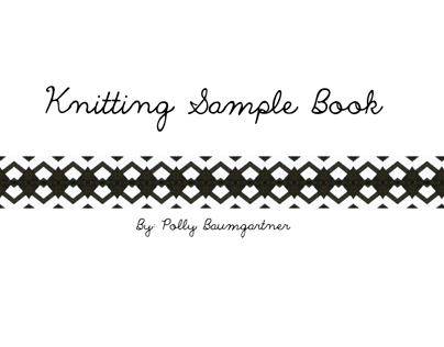 Knitting Sample Book