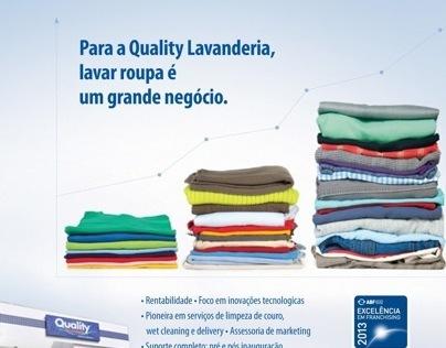 Quality Lavanderia - Franquia