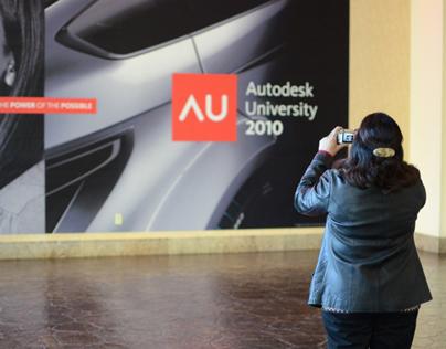 Autodesk University 2010 identity