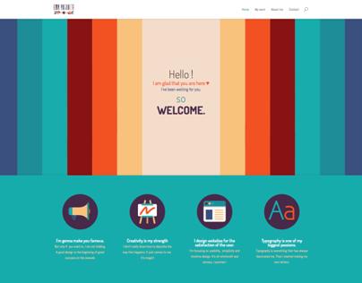 Ema Rogobete new portfolio website & logo