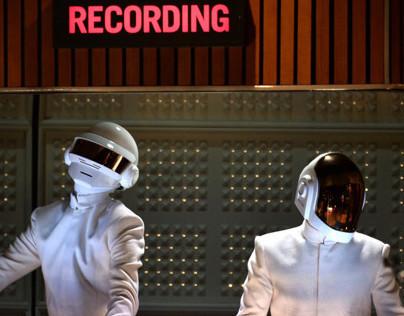 Daft Punk 2014 Grammy's Stage Design