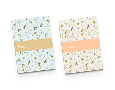 Floral Pattern Notebooks