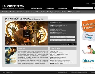 Maqueta para página web
