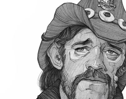 Lemmy illustration sketch