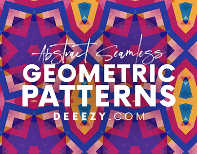 12 Free Modern Geometric Patterns 3