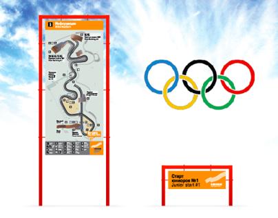 Navigation for SANKI (part of Sochi Olympics 2014)