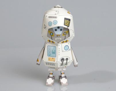 [ ROBOT ] Paper toy of Boogiehood