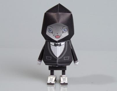 [ SUIT CAT ] Paper toy of Boogiehood