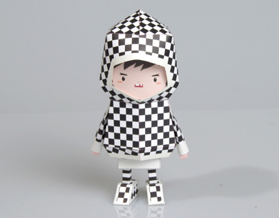 [ CHECK ] Paper toy of Boogiehood