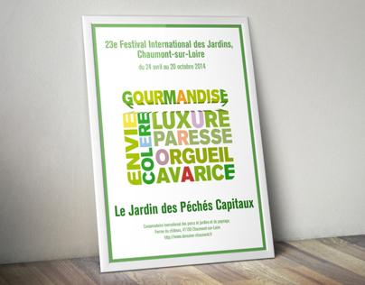 Affiches Festival de Chaumont-sur-Loire