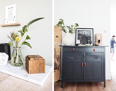 Interior design apartment Amsterdam