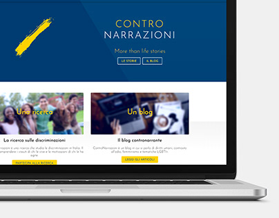 ControNarrazioni | Web Design