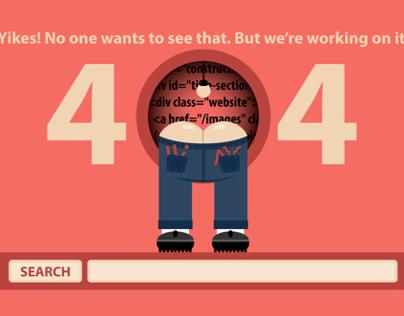 404 - Site Construction - Maintenance Pages