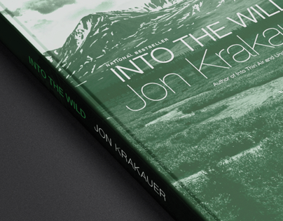 """""""Into the Wild"""" Book Jacket"""