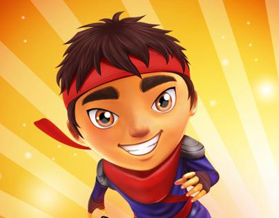 Ninja Kid Run - IOS/ANdroid GAME