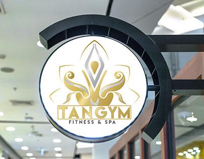 Logo for a Fitness & Spa Center