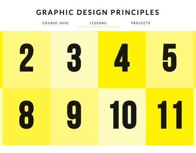 """Graphic Design Principles"" DeCal"
