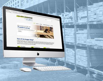 Web site for HSB Göta Byggvaror