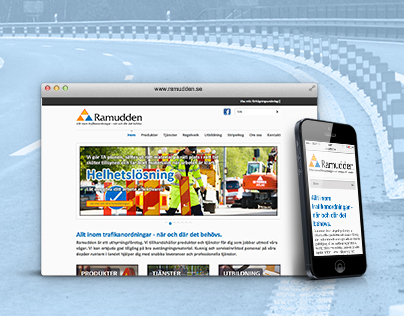 Web site for Ramudden