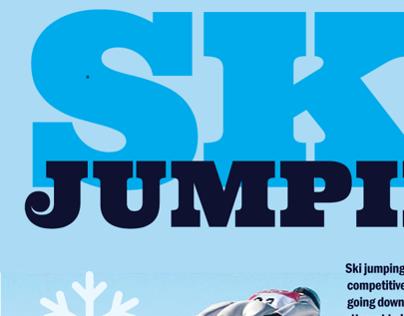 Ski Jumping Infographic