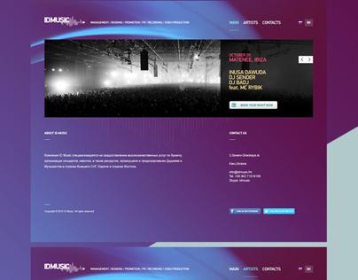ID Music Website