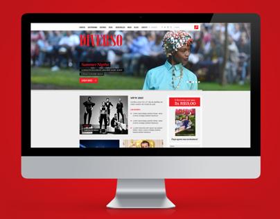 Site Revista Diverso