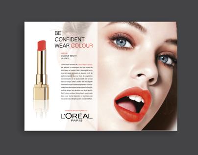 L'oreal Colour Bright Lipstick