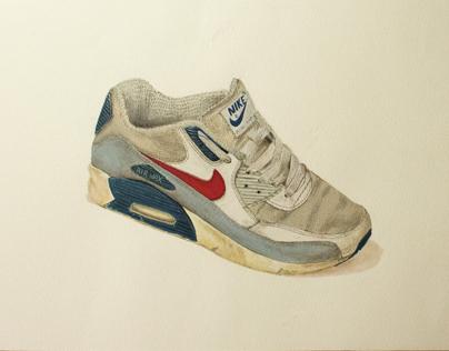 [Étude Documentaire] Vieille paire Nike Air Max 90