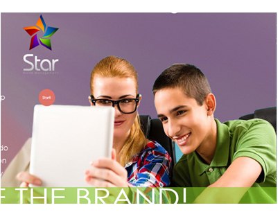 MockUp Star Brand Management Web 1 page