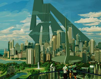 Mega Metropolis Concept art