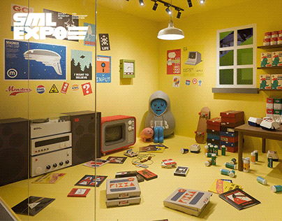 SML EXPO 06 | LONER ROOM, GAME SHOP