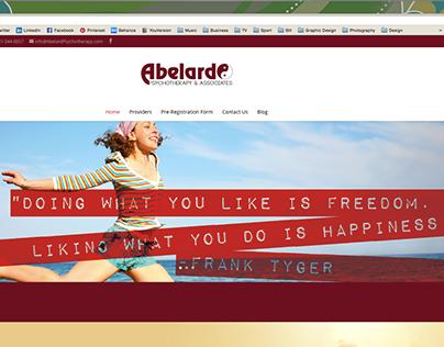 Abelard Psychotherapy Logo & Website