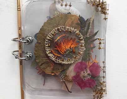 Mini book Herbarium