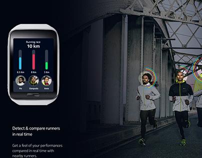 HERE Running - Nike +