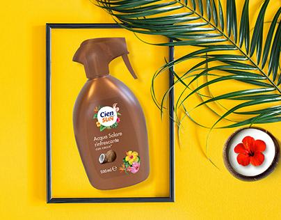 Cien Sun Packaging Design