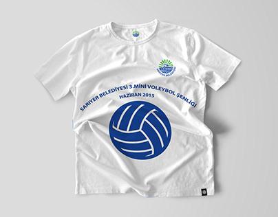 Sarıyer Belediyesi T-Shirt Design