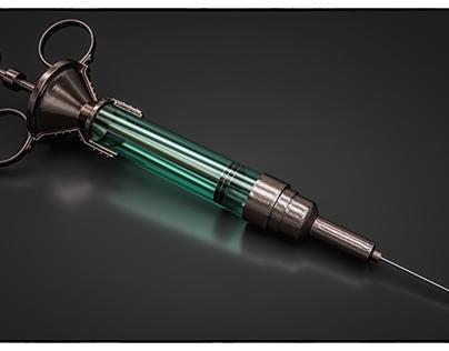 Syringe (C4D Tutorial)