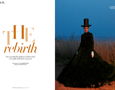 Harper's Bazaar Arabia December 2019.