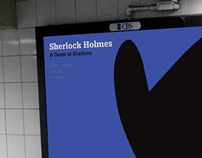 Sherlock Holmes – Abstract Movie Poster