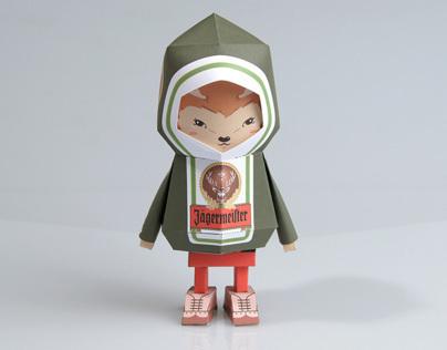 [ Jagermeister ] Paper toy of Boogiehood