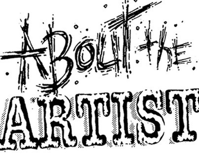 About the Artist - Self Promotion
