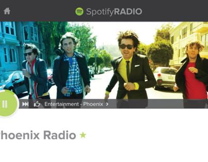 Spotify Radio Redesign