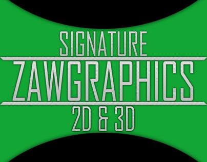 Signature 2D & 3D