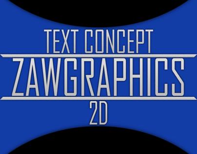 Text Concept 2D